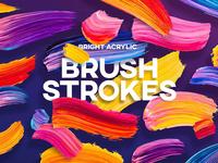 Vivid Brush Strokes