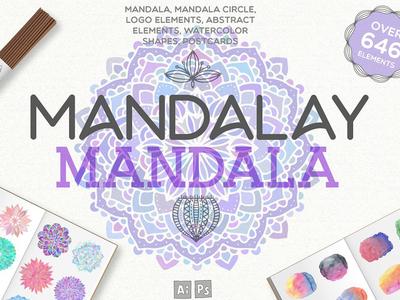 Mandalay Mandala [646 Elements]