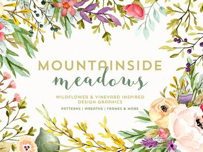 Mountainside Meadows Wildflowers