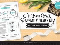 The Handmade Document Creator Kit