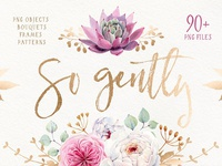 SO GENTLY Watercolor collection