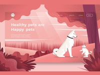 Cat and Dogs - Banner & Landing Page