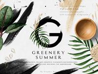 Greenery Summer Design Set