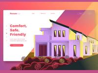 Real Estate Agency-Banner & Landing