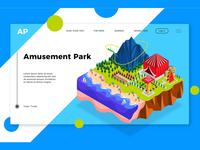 Amusement Park - Banner & Landing