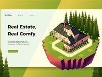 Real Estate - Banner & Landing Page