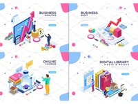 Banner & Landing Page Collection 03