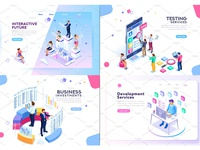 Banner & Landing Page Collection 01