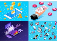 Banner & Landing Page Collection 05