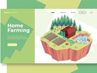 Home Farming - Banner & Landing Page