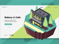 Bakery & Cafe -Banner & Landing Page
