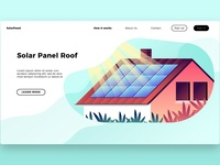 Solar Panel Roof - Landing Page
