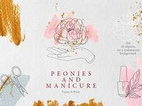 Peonies & Manicure