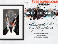 Free Premium Download - Into the Space | Graphics