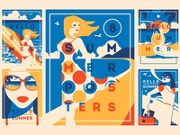 -30% 8 Summer Posters & Badges #2