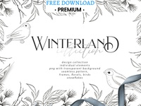 Free Premium Download - Winterland collection