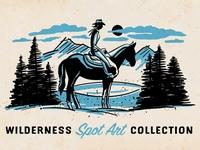 Wilderness Spot Art Collection