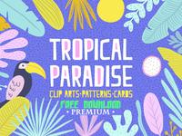 Free Premium Download - Tropical Paradise Set