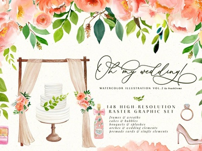 Oh My Wedding! // Illustration Vol.2
