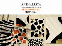 Free Premium Download - Animalista - patterns collection
