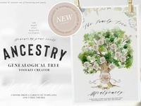 Ancestry - Genealogical Tree Creator