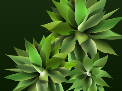 Green plant vector drawing realistic vectors vector art vector plants made in affinity