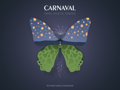 Carnaval carnaval affinity designer poster carnival fairy butterfly