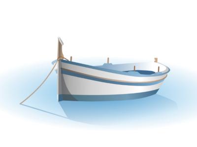 Little boat ⛵ boat vector drawing vector boat affinity designer