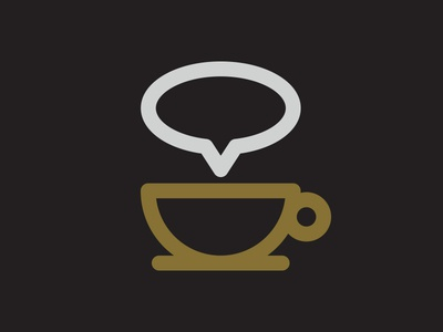 Coffee Shop Chat Icon