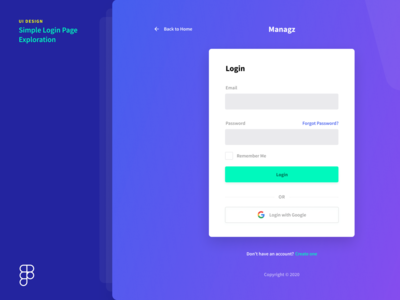 Simple Login Page Exploration