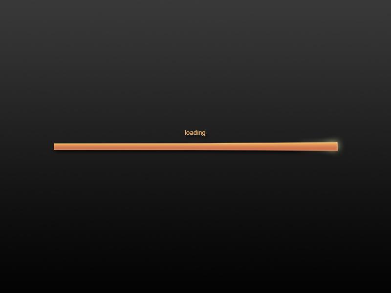 Loading Bar loading bar photoshop orange black grey color colour ui element