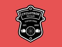 Cyclotron  Bicycle Badge