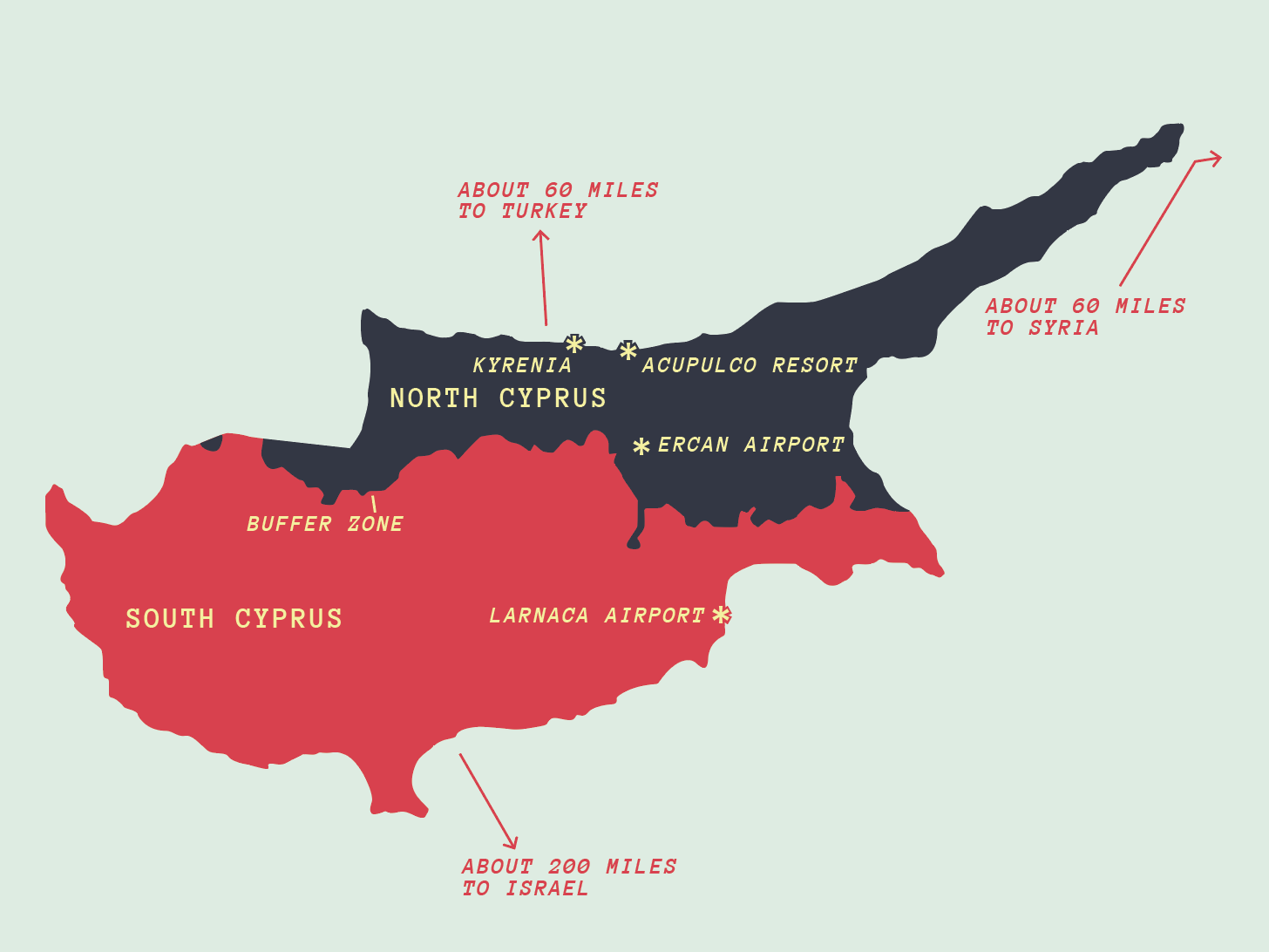 Map of Cyprus map cartography layout print event branding design
