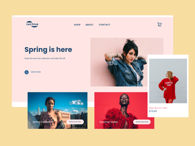 Lexi Prive eCommerce Site shopify webflow ecommerce design ecommerce uiux branding design logo landing hero ui