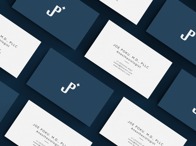 Joe Poku MD Business Cards