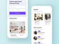 Renting Apartments App