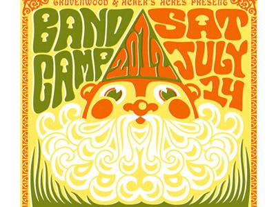 Bandcamp Festival Poster by Scott Whitehouse on Dribbble