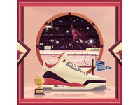 Iconic Sneakers - Air Jordan (Slam Dunk Contest)
