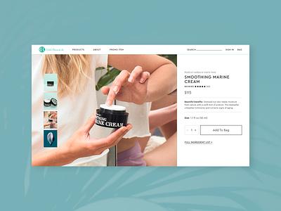 Clark's Botanicals design responsive ux uiux ui digital design interactive design graphic design web design visual design