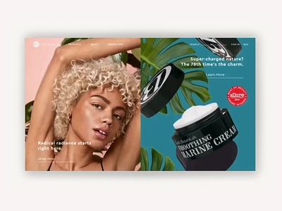 Clark's Botanicals design responsive ux uiux ui interactive design digital design visual design web design graphic design