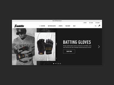 Franklin design responsive graphic design digital design interactive design ux uiux ui web design visual design
