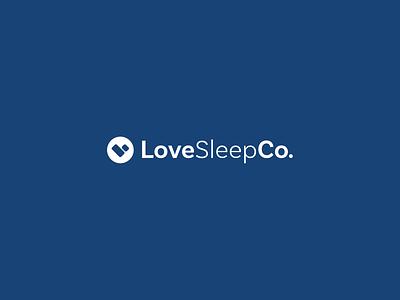 LoveSleep Logo brand design logo mark identity logomark logo design typography branding design logo graphic design
