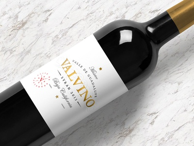 Valvino Wine wine visual design logo identity branding print design print graphic design design label design packaging