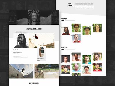 Arbor Collective - Team Page interactive design responsive ux ui uiux design digital design graphic design web design visual design
