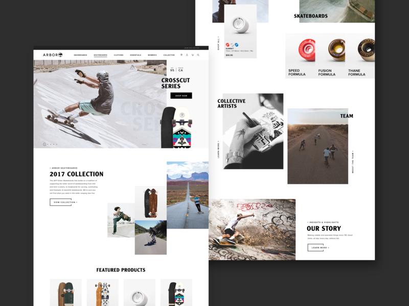 Arbor Collective interactive design responsive uiux ux ui design digital design visual design web design graphic design