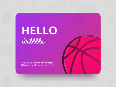Finally on Dribbble :D debut player first shot