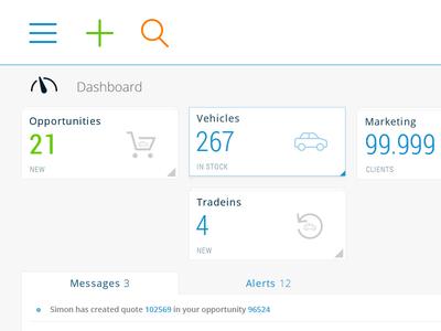 Automotive intranet dashboard V3   WIP