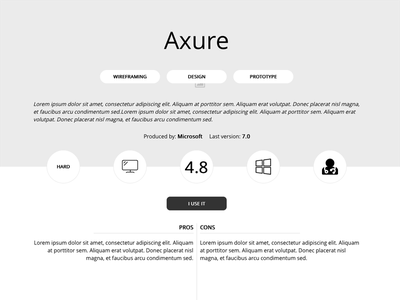 Personal project, 1st iteration review details specifications tool tools software user experience ux