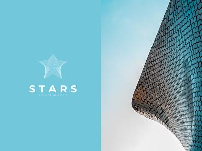 Stars Apartments Logo iconic logo icon logos logo