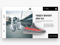 Adidas/Yeezy UX Design